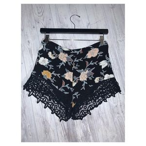 Kendall and Kylie Floral Shorts